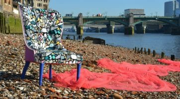 Turn-Waste-Plastic-into-Upholstered-Chair